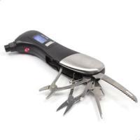 مقياس ضغط هواء عجلات السيارة اللإلكتروني متعدد المهام 9 في 1