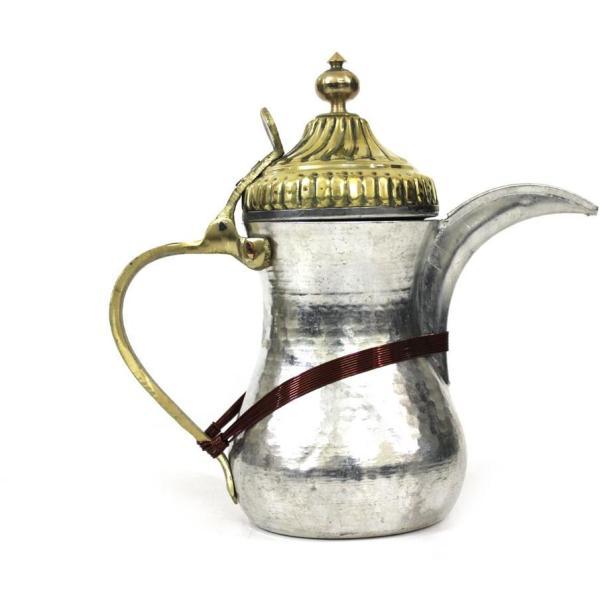 دلة قهوة حب الرمان ام حزام مقاس 2