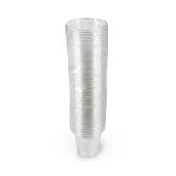 أكواب بلاستيك للاستعمال مرة واحدة -50 قطعة شفاف