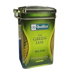 علبة شاي أخضر أوراق كبيرة 100 جرام من كواليتي
