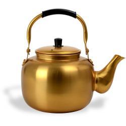 ابريق شاي شاهي نحاس اصفر كوري 15 لتر