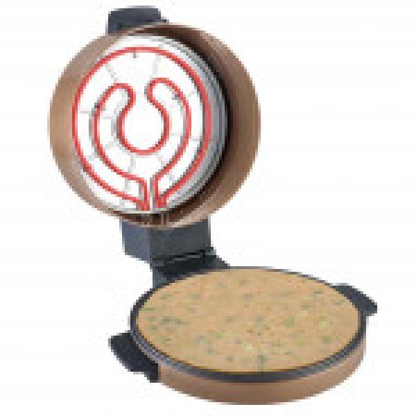 السنيدي خبازة كهربائية مغطى بطبقة غير لاصقة مقاس كبير  40×20 سم