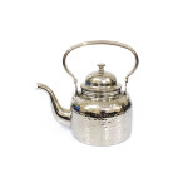 ابريق شاي استانليس استيل ثقيل حب الرمان سعة 1.5 لتر