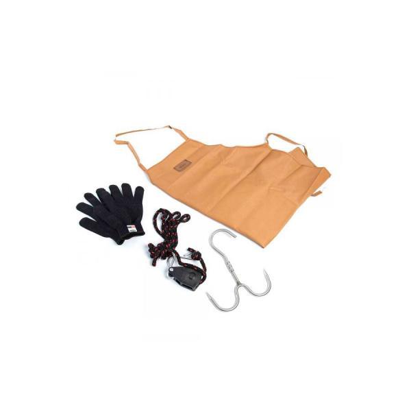مجموعة ادوات جزار مع حقيبة حمل
