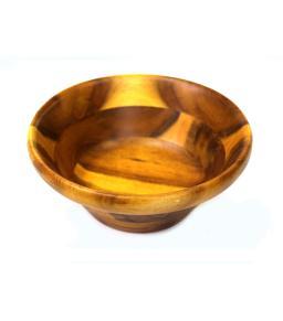 وعاء إناء صحن باديه قدح خشبي متين فتنامي صغير