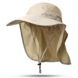 قبعة صياد بغطاء خلفي للرقبة