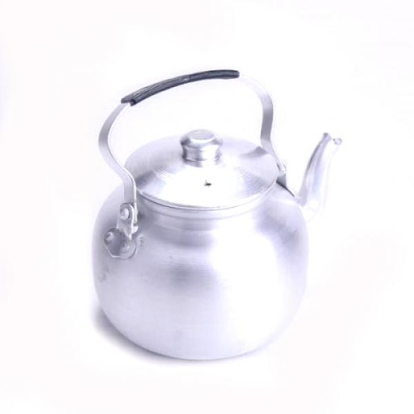 ابريق شاي كابي فضي ستيل رقم 1