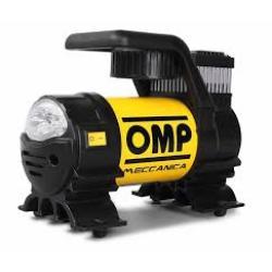 ماطور هواء يعمل على ولاعة السيارة مزود بكشاف 35 لتر بالساعة OMP الاصلي