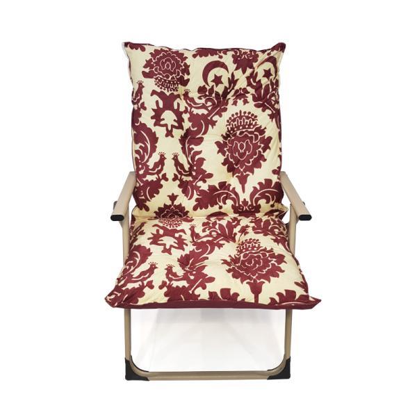 كرسي ابو طير لون احمر للاسترخاء