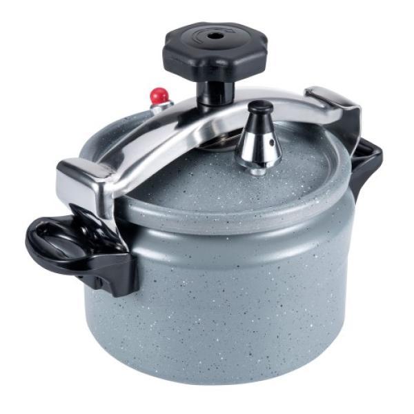 قدر ضغط سيراميك المنيوم ثقيل السنيدي سعة 2 لتر
