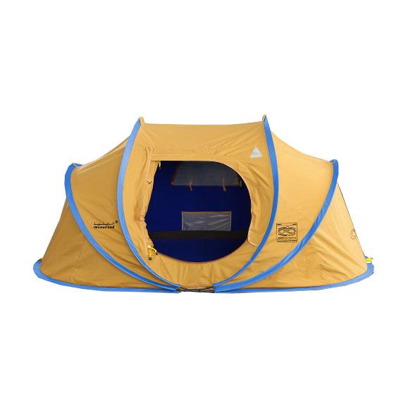 خيمة القاضي المبيت الشتوية صغير اصفر 2.5 * 1.5 * 1.1 م
