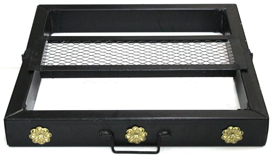 منقل وجار قابل للطي مقاس 70 × 70