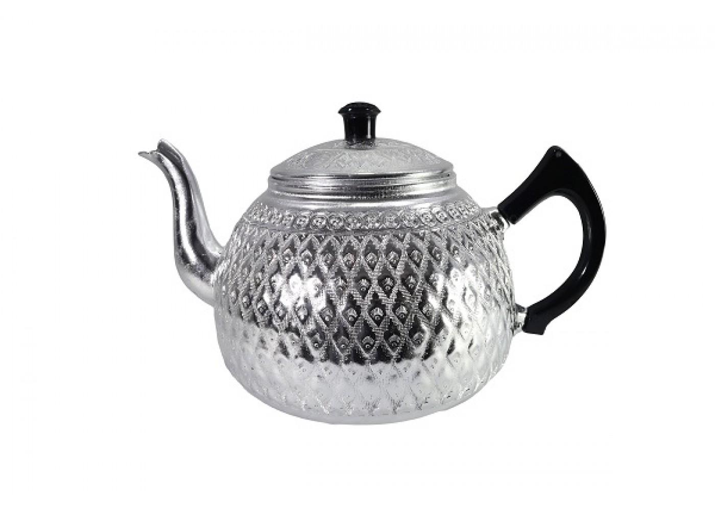 ابريق شاي شاهي تايلندي بيد اسود مقاس 14سم