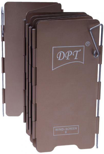 ذراية نار المونيوم DPT مقاس 14 سم 9 درفة مع كيس اسود DPTR-0045