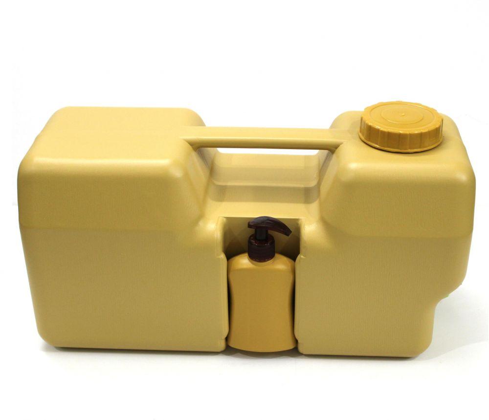 جيك ماء البركة 20 لتر مع علبة الصابون