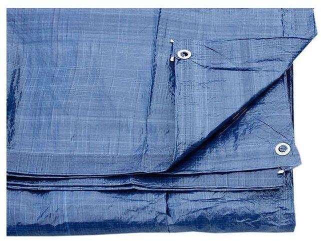 طربال ( شراع ) بلاستيك أزرق مقاس 15 في 10