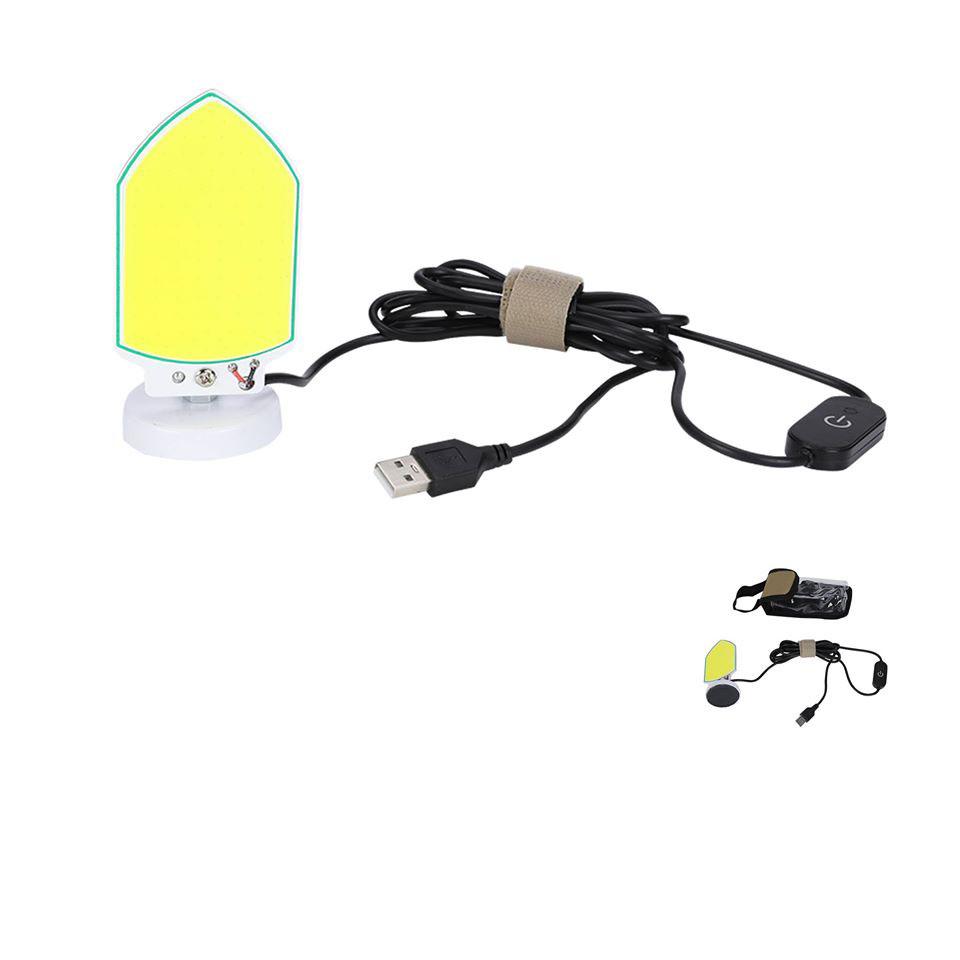 لمبة LED بقاعدة مغناطيس - نجفة شريحة