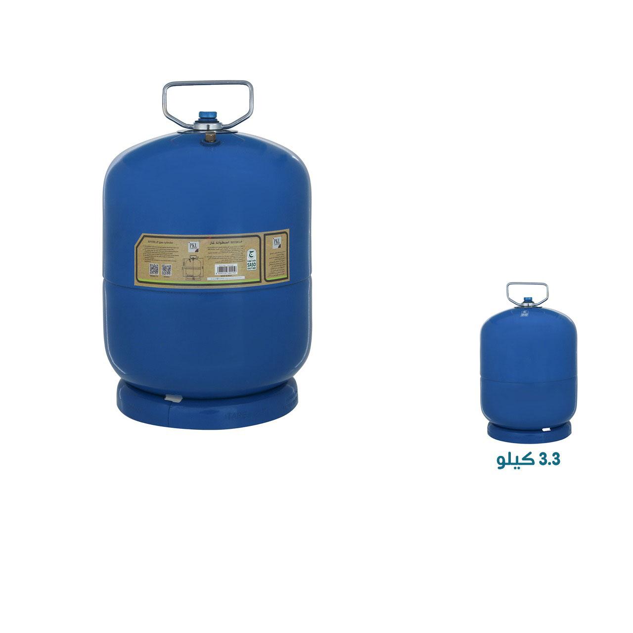 دبة غاز PKL ضد الانفجار سعة 3.3 كيلو لون ازرق