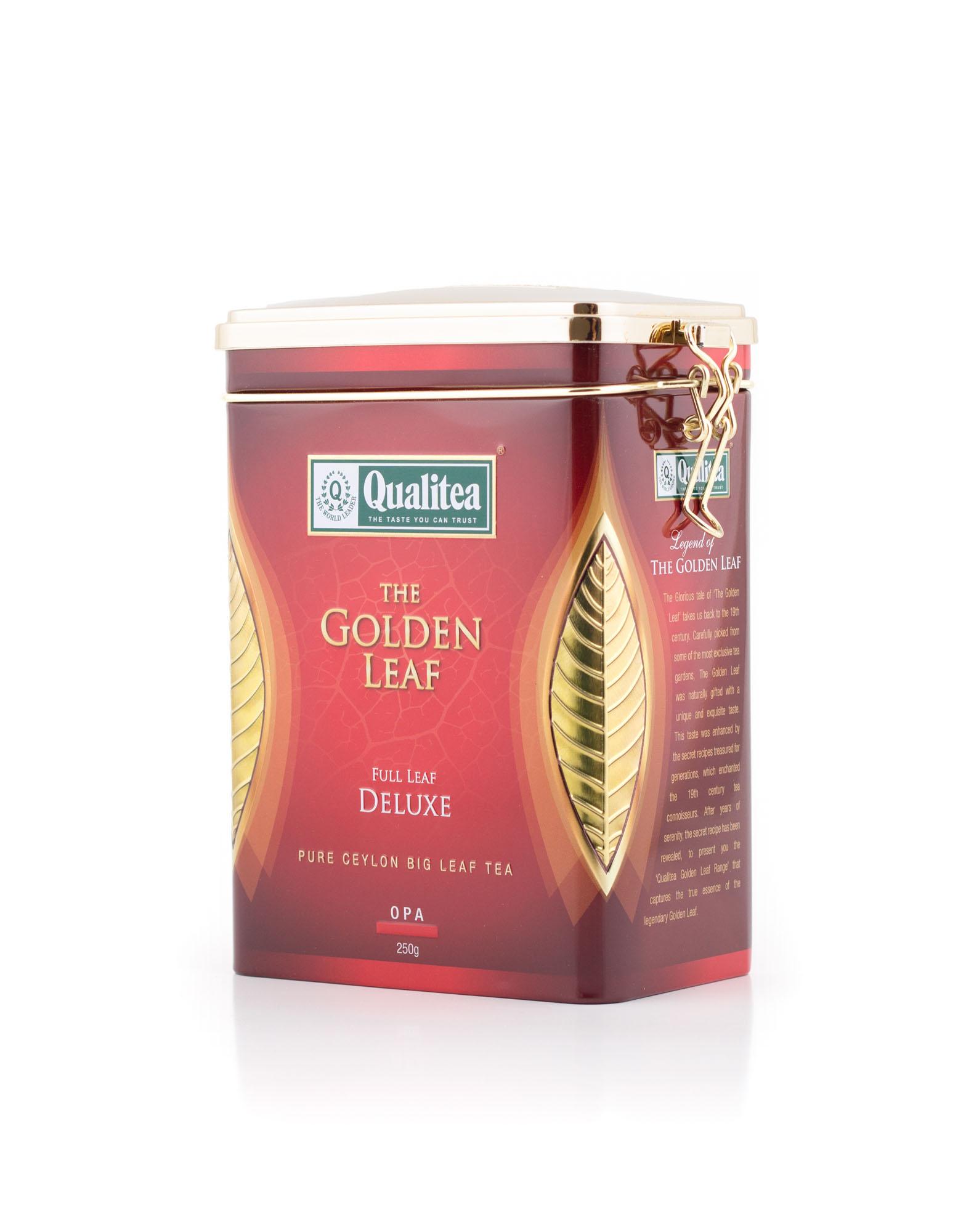 شاي كواليتي الورقة الذهبية 250 جرام ديلوكس