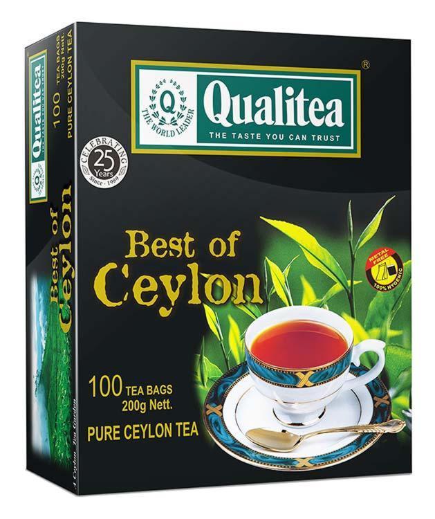 شاي كواليتي سيلاني نقي 100 كيس × 200 جرام