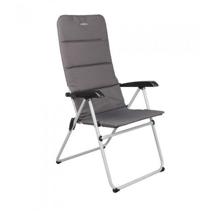 القاضي للرحلات كرسي بإرتفاع قابل للتعديل لون رمادي