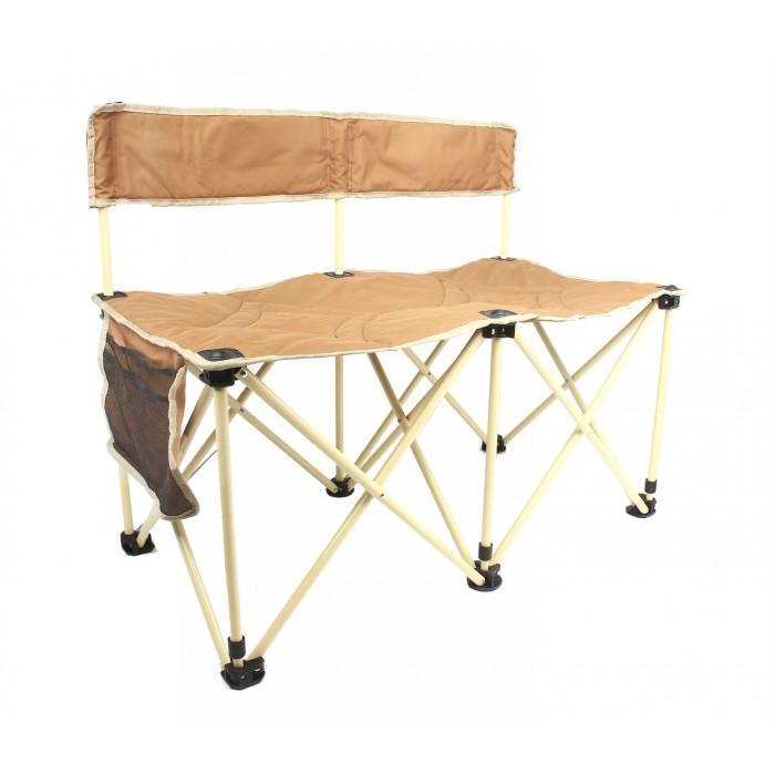 القاضي للرحلات كرسي مزدوج قابل للطي موديل ٣