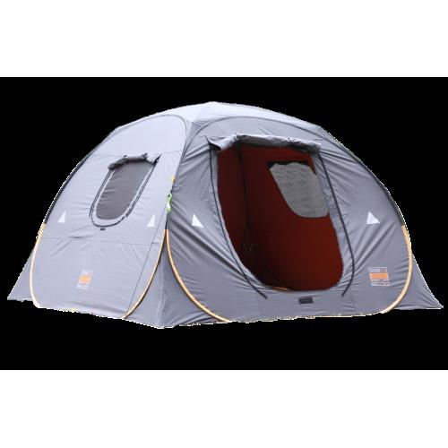 القاضي خيمة المكشات رصاصي برتقالي  3x3