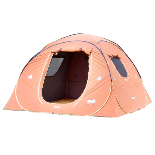 القاضي خيمة المكشات برتقالي رصاصي  3x3