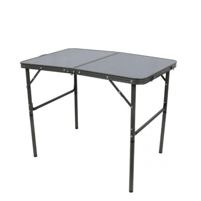 القاضي طاولة ألمنيوم قابلة للطي رمادي 90 x 70 x 60 xسم