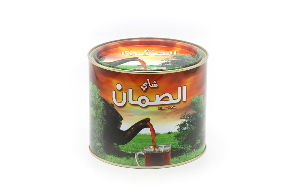 شاي الصمان الاصلي علبة دائرية 360 جرام