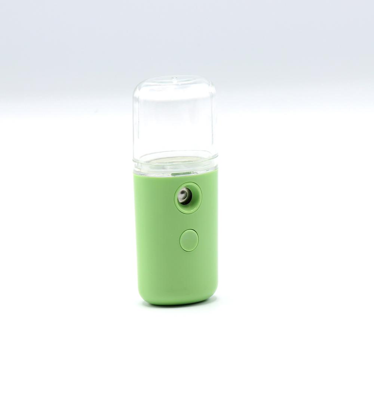 مرطب هواء ملطف هواء فواحة سيارة صغير توضع بالجيب لون اخضر