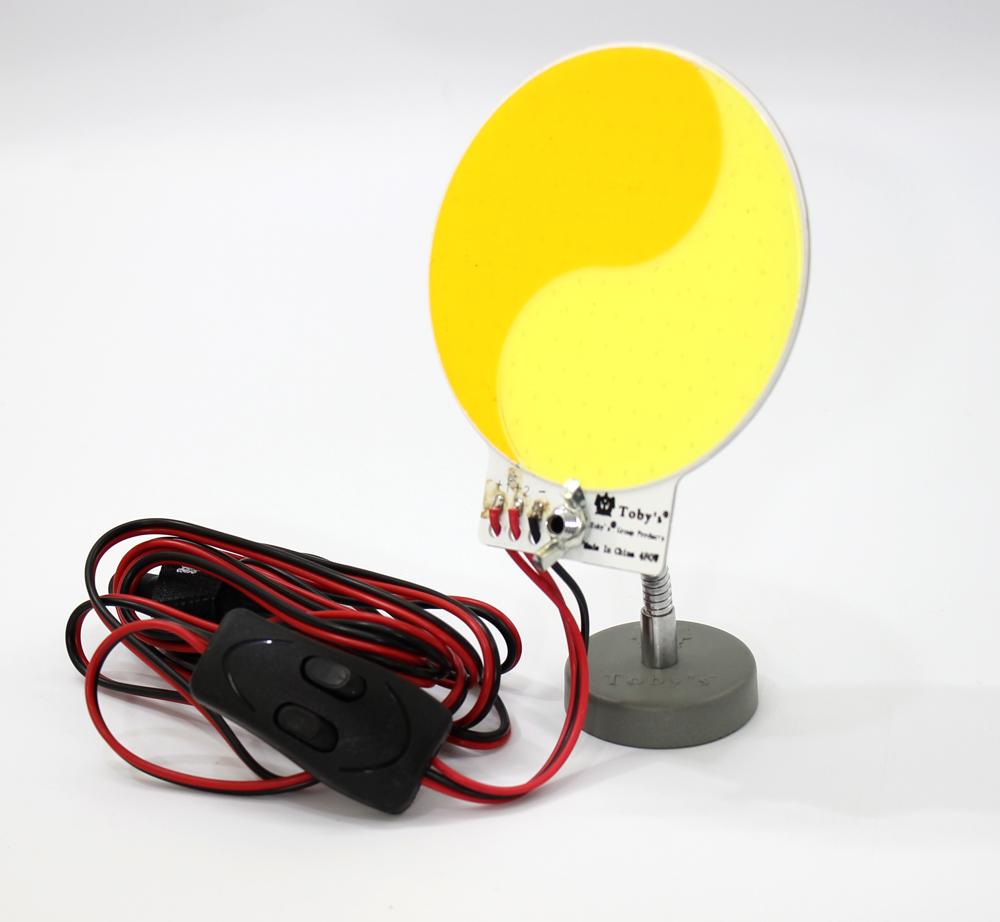 لمبه ليد اصفر + برتقالي COB OVEL LED 480 W