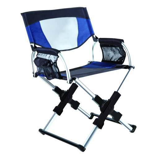 كرسي قابل للطي مصنوع من سبائك المنيوم وقماش اكسفورد وشبكة نيلون