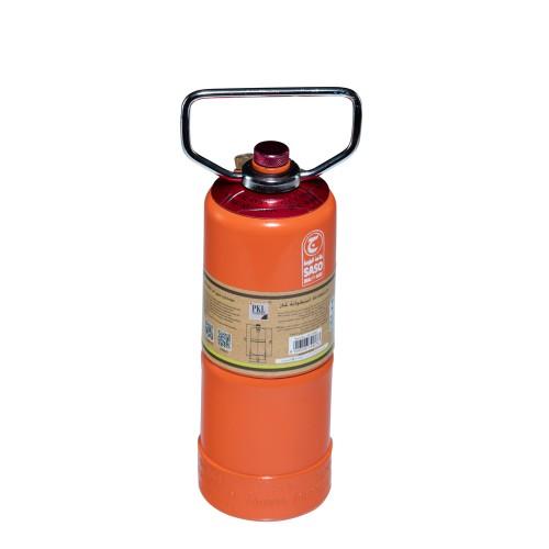 اسطوانة غاز هندي P.K.L قابلة للتعبئة 0.25 كيلو لون برتقالي